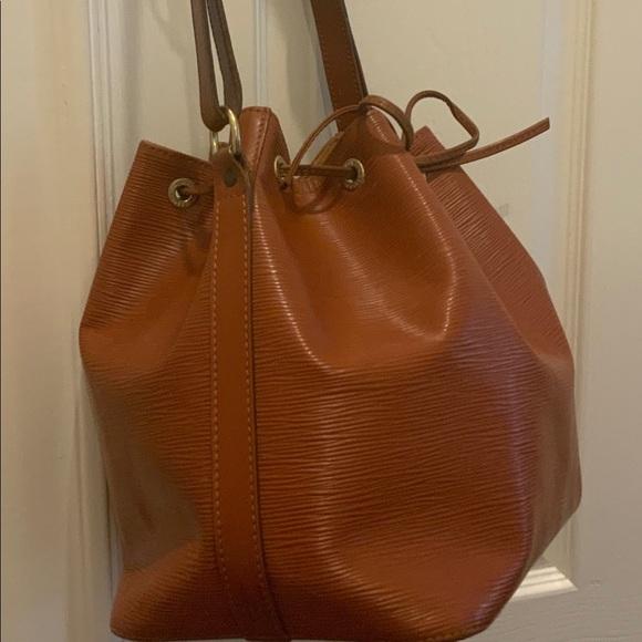 Louis Vuitton Handbags - Louis Vuitton Petit Epi Shoulder Bag Kenya Brown